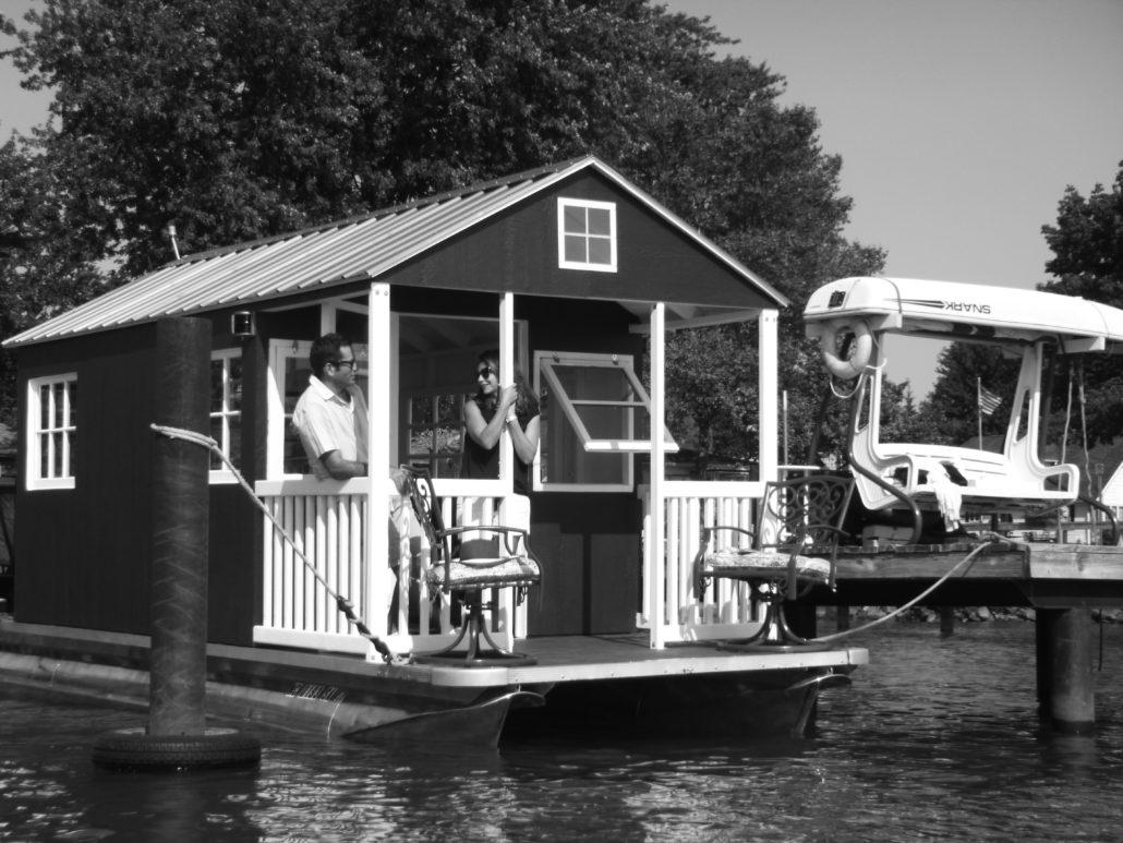 Tiny Floating Cottage